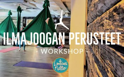 Ilmajoogan perusteet -workshop Su 14.4.