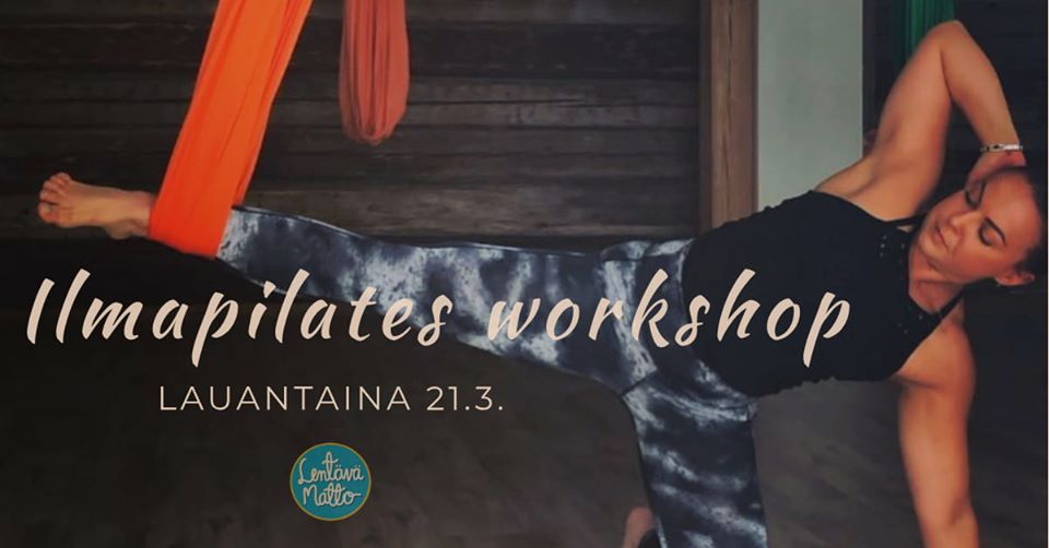 Ilmapilates workshop La 21.3.