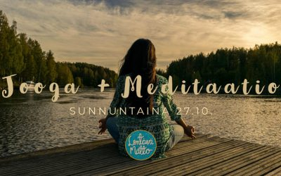 Jooga + Meditaatio -workshop Su 27.10.